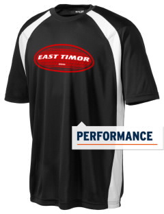 East Timor Men's Dry Zone Colorblock T-Shirt
