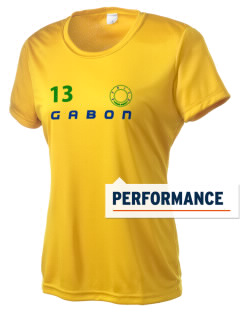 Gabon Women's Competitor Performance T-Shirt