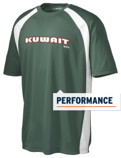Kuwait Men's Dry Zone Colorblock T-Shirt