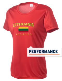 Lithuania Women's Competitor Performance T-Shirt