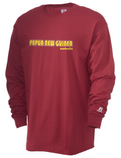Papua New Guinea  Russell Men's Long Sleeve T-Shirt
