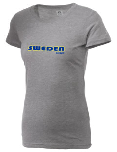 Sweden  Russell Women's Campus T-Shirt