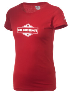 Alabama  Russell Women's Campus T-Shirt