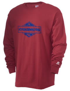 Arkansas  Russell Men's Long Sleeve T-Shirt