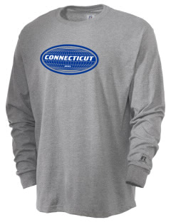 Connecticut  Russell Men's Long Sleeve T-Shirt