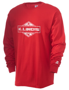 Illinois  Russell Men's Long Sleeve T-Shirt