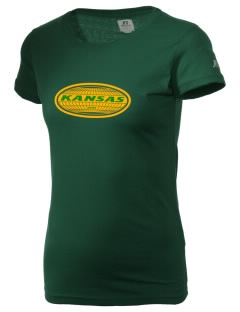 Kansas  Russell Women's Campus T-Shirt
