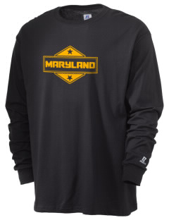 Maryland  Russell Men's Long Sleeve T-Shirt