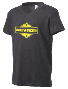 Nevada Kid's V-Neck Jersey T-Shirt