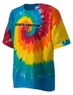 North Carolina Kid's Tie-Dye T-Shirt