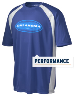 Oklahoma Men's Dry Zone Colorblock T-Shirt