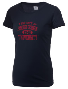 Fairleigh Dickinson University Knights  Russell Women's Campus T-Shirt