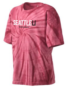 Seattle University Redhawks Kid's Tie-Dye T-Shirt