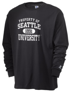 Seattle University Redhawks  Russell Men's Long Sleeve T-Shirt