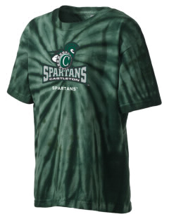 Castleton State College Spartans Kid's Tie-Dye T-Shirt