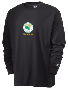 Norfolk State University Spartans  Russell Men's Long Sleeve T-Shirt