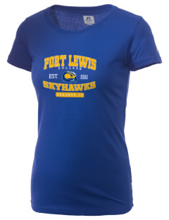 Fort Lewis College Skyhawks  Russell Women's Campus T-Shirt