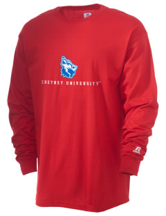 Cheyney University Wolves  Russell Men's Long Sleeve T-Shirt