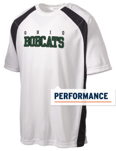 Ohio University Bobcats Men's Dry Zone Colorblock T-Shirt