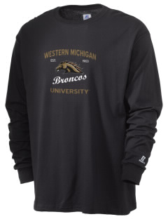 Western Michigan University Broncos  Russell Men's Long Sleeve T-Shirt
