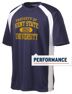 Kent State University Golden Flashes Men's Dry Zone Colorblock T-Shirt
