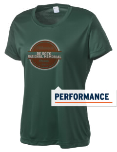 De Soto National Memorial Women's Competitor Performance T-Shirt