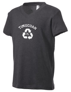 Timucuan Ecological & Historic Preserve Kid's V-Neck Jersey T-Shirt
