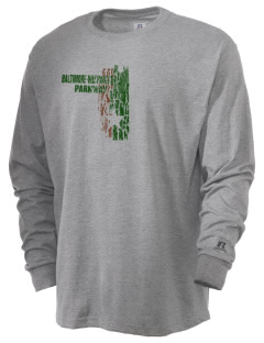 Baltimore-Washington Parkway  Russell Men's Long Sleeve T-Shirt