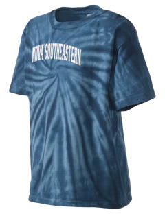 Nova Southeastern University Sharks Kid's Tie-Dye T-Shirt