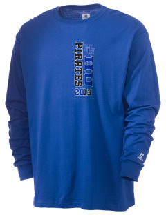 Hampton University Pirates  Russell Men's Long Sleeve T-Shirt