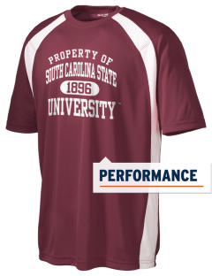 South Carolina State University Bulldogs Men's Dry Zone Colorblock T-Shirt