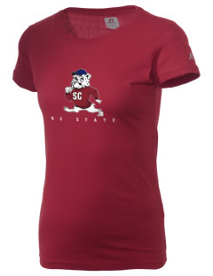 South Carolina State University Bulldogs  Russell Women's Campus T-Shirt