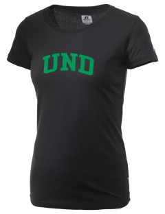 University of North Dakota Athletics  Russell Women's Campus T-Shirt