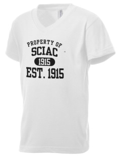 SCIAC Est. 1915 Kid's V-Neck Jersey T-Shirt