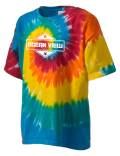 Ocean View Kid's Tie-Dye T-Shirt