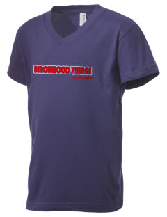 Birchwood Village Kid's V-Neck Jersey T-Shirt