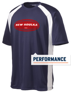 New Houlka Men's Dry Zone Colorblock T-Shirt