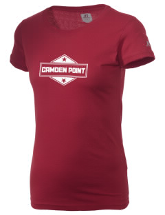 Camden Point  Russell Women's Campus T-Shirt