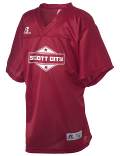 Scott City Russell Kid's Replica Football Jersey
