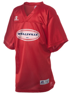 Wellsville Russell Kid's Replica Football Jersey