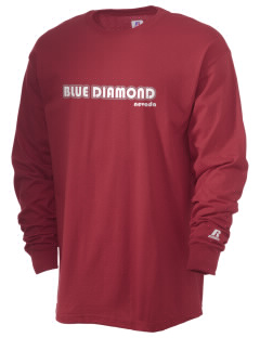 Blue Diamond  Russell Men's Long Sleeve T-Shirt