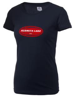 Acomita Lake  Russell Women's Campus T-Shirt