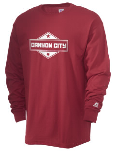 Canyon City  Russell Men's Long Sleeve T-Shirt