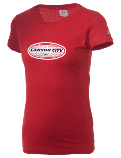 Canyon City  Russell Women's Campus T-Shirt