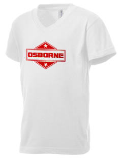 Osborne Kid's V-Neck Jersey T-Shirt