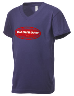 Washburn Kid's V-Neck Jersey T-Shirt
