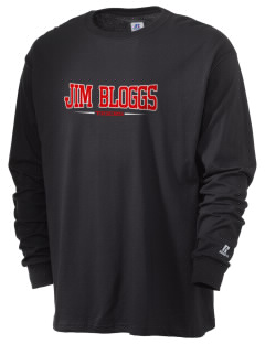 Jim Bloggs School Tigers  Russell Men's Long Sleeve T-Shirt