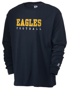 Coppin Academy Eagles  Russell Men's Long Sleeve T-Shirt