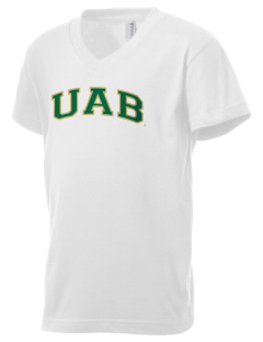 University of Alabama at Birmingham Blazers Kid's V-Neck Jersey T-Shirt