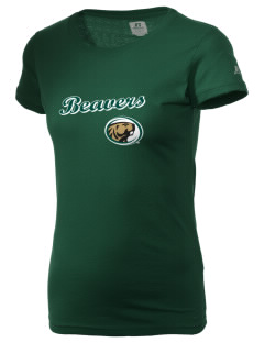 Bemidji State University Beavers  Russell Women's Campus T-Shirt